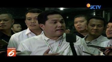 Pimpin rapat tim kampanye, Erick Tohir menyatakan akan hindari kampanye hitam dan mengedepankan rekam jejak serta capaian kerja Jokowi- Ma'ruf.