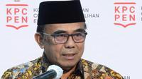 Jelang hari raya Natal, Menteri Agama Fachrul Razi mengingatkan, rumah ibadah menerapkan protokol kesehatan saat konferensi pers di Kantor Presiden, Jakarta, Rabu (25/11/2020). (Biro Pers Sekretariat Presiden)