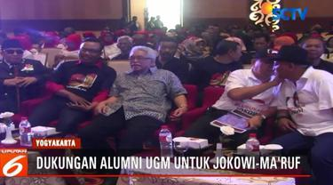 Tak hanya dukungan berupa deklarasi, para alumni UGM dan berbagai kampus di Yogyakarta ini juga menyatakan akan berjuang untuk memenangkan Jokowi dalam Pilpres 2019 mendatang.