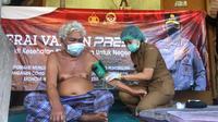 vaksinasi odgj  dan penyandang disabilitas di klungkung bali