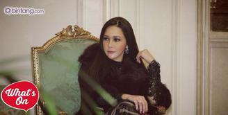 Maia Estianty rayakan ulang tahun ke-41 bersama Al Ghazali dan Dul.