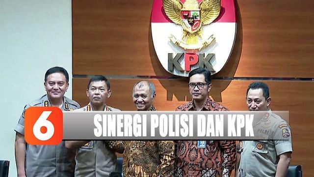 Selain berterima kasih atas kunjungan Kapolri, Ketua KPK Agus Rahardjo berharap janji Kapolri segera terwujud.