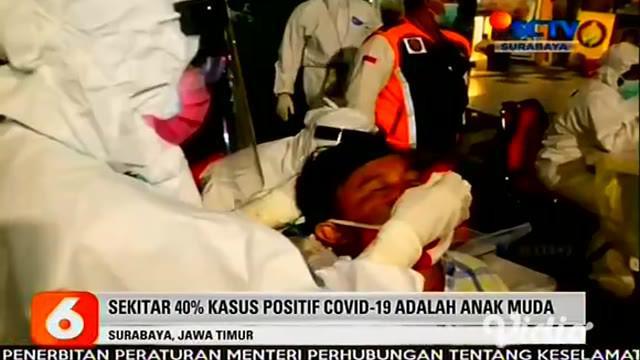 Rapid test antigen massal dadakan yang digelar Pemkot Surabaya di kawasan Ketabang Kali, terjaring 308 warga yang tengah asyik berkumpul dan yang sedang melintas di kawasan tersebut.