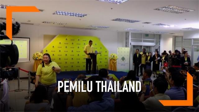 KPU Thailand menyebut 74 partai berhasil merebut kursi parlemen di pemilu 2019. Namun pengumuman pemenang pemilu belum akan dilakukan.