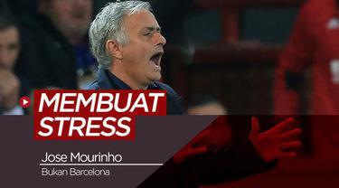 Berita video tentang tim yang berhasil membuat Jose Mourinho stress sepanjang karier melatihnya.