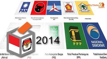 `Quick Count` LSN: Gerindra, PDIP dan Golkar Bersaing Ketat