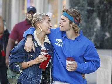 Rumor beredar Justin Bieber dan Hailey Baldwin sudah melangsungkan pernikahan pada 14 September lalu. (RALPH PETTS - SPLASHNEWS.COM- HollywoodLife)