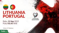 Kualifikasi Piala Eropa 2020 - Lithuania Vs Portugal (Bola.com/Adreanus Titus)