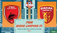 Shopee Liga 1- PSM Makassar Vs Perseru Badak Lampung FC (Bola.com/Adreanus Titus)