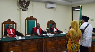 Gubernur Bengkulu Ridwan Mukti Dionis 8 Tahun Penjara