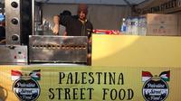 Emad Alamad, pedagang kebab asal Palestina di Asian Games 2018. (KLY Sports/Fitri Apriani)