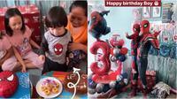 Anak Omesh ulang tahun ke-3 (Sumber: Instagram/dianayulestari)