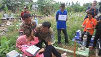 Lokasi penguburan jasad AP, PNS Palembang di TPU Kandang Kawat Palembang (Liputan6.com / Nefri Inge)