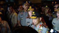 Kapolri Tito Karnavian Tinjau Lokasi Bom Kampung Melayu (Liputan6.com/Ahmad Romadoni)