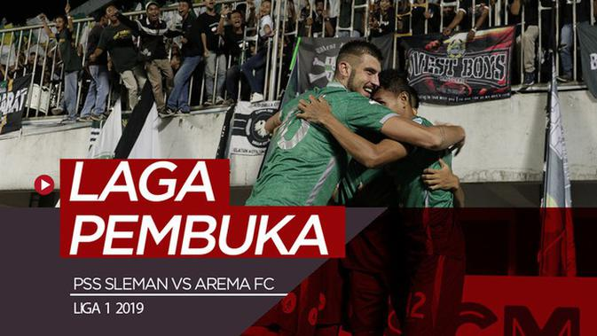 Skor Persija Vs Pss Sleman Detail: VIDEO: Highlights Liga 1 2019, PSS Sleman Vs Arema FC 3-1