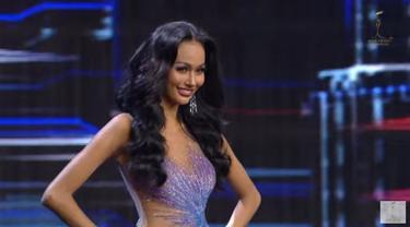 Aura Kharishma di Miss Grand International 2020