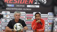 Dany Saputra menyebut, PSS Sleman memiliki 2 keunggulan saat menghadapi Persija Jakarta pada laga Piala Presiden 2019. (Khairul Imam/Persija Jakarta)