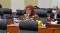 Juru Bicara Fraksi PKB, Siti Mukaromah menyampaikan sikap menyetujui Rancangan Undang-undang  tentang Pertanggungjawaban atas Pelaksanaan Anggaran Pendapatan dan Belanja Negara Tahun Anggaran 2020 (RUU P2 APBN TA 2020).