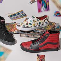Kolaborasi Vans dan Marvel Luncurkan Sepatu Sneakers Edisi Superhero
