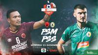 Shopee Liga 1 - PSM Makassar Vs PSS Sleman - Head to Head Pemain (Bola.com/Adreanus Titus)