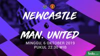 Premier League - Newcastle United Vs Manchester United (Bola.com/Adreanus Titus)