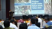 Deputi Bidang Koordinasi Ekonomi Makro dan Keuangan Kementerian Koordinator Bidang Perekonomian Iskandar Simorangkir.
