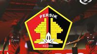 Liga 1 - Ilustrasi Logo Persik Kediri BRI Liga 1 (Bola.com/Adreanus Titus)
