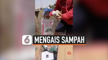 vertical sampah