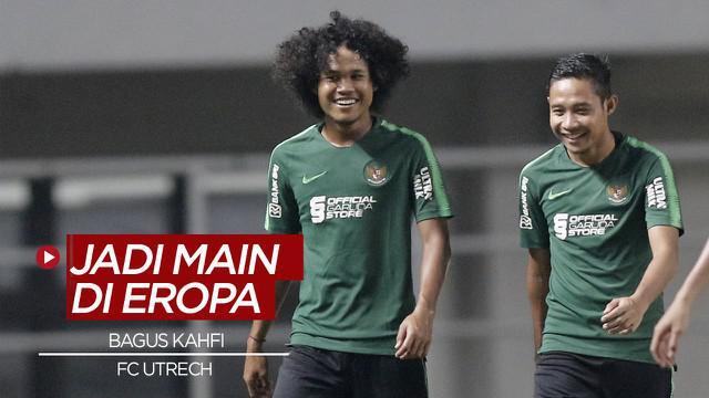Berita video, Bagus Kahfi akan bermain di Belanda dengan tim Junior FC Utrecht