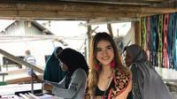 Pevoli yang juga kekasih Bagus Kahfi, Shella Bernadetha. (Instagram Shella Bernadetha).