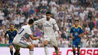 Alvaro Morata cetak gol untuk Real Madrid lawan Celta Vigo (reuters)