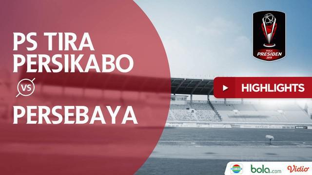 Berita video Persebaya melawan Tira Persikabo pada partai terakhir Grup A di Stadion Si Jalak Harupat, Soreang, Kabupaten Bandung, Selasa (12/3/2019) dengan hasil imbang 0-0.