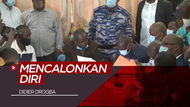 Berita Video Didier Drogba Calonkan Diri Jadi Presiden Federasi Sepak Bola Pantai Gading