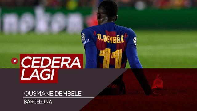 Berita Video Barcelona Kehilangan Ousmane Dembele Selama 6 Bulan