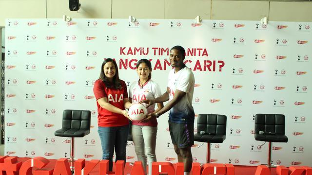 Tottenham Bantu Gelorakan Sepak Bola Wanita di Indonesia