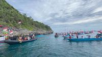 Pemkab Maluku Tenggara menyampaikan komitmen membangun wilayah perbatasan jelang peringatan Hari Sumpah Pemuda dari Weduar Fer, Kepulauan Kei Besar, Maluku Tenggara, Selasa (27/10/2020). (Ist)