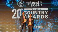 Acara Triple A Country Awards di Hongkong, Kamis (16/1).