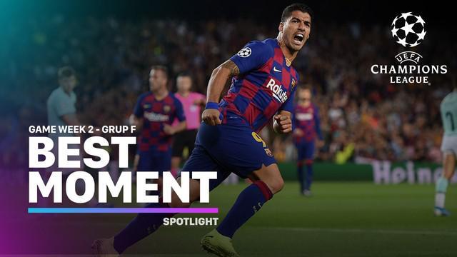 Berita video momen-momen terbaik yang tercipta pada matchday 2 di Grup F Liga Champions 2019-2020.