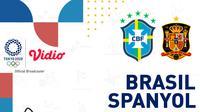 Olimpiade 2020 - Brasil Vs Spanyol (Bola.com/Adreanus Titus)