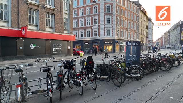 Denmark, Sepeda, Pesepeda