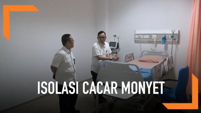 Batam siapkan beberapa rumah sakit untuk isolasi para penderita cacar monyet. Ruangan ini disiapkan karena penyakit ini mulai mewabah di Singapura yang letaknya dekat dengan Batam.