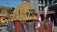 Kemeriahan karnaval di Gresik, Jawa Timur (Foto:Liputan6.com/Dian Kurniawan)