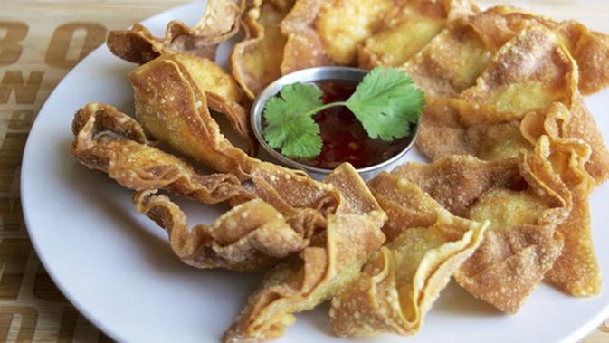 Resep Wonton Goreng Isi Udang Ayam khas Thailand - Lifestyle Fimela.com