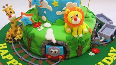 10 Model Kue Ulang Tahun Anak Tema Hewan Hewan Lucu Fimela