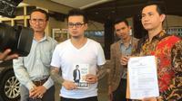 Michael Howard Lapor ke Polres Jakarta Utara