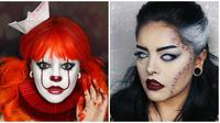 Makeup horor (Sumber: Boredpanda)