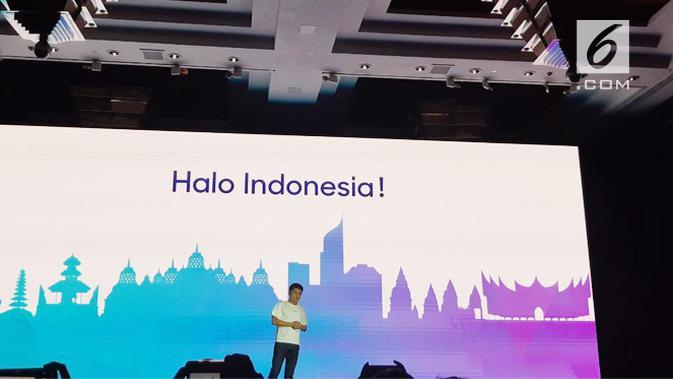 Josef Wang, Marketing Director of Realme Southest Asia. Liputan6.com/Agustin Setyo W