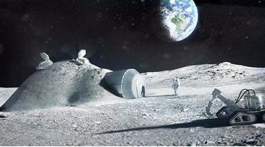 Badan Antariksa Eropa atau European Space Agency (ESA) mengungkapkan rencananya membangun sebuah pangkalan manusia di Bulan. Pangkalan tersebut ke depan akan membantu manusia mengeksplorasi galaksi dan alam semesta.
