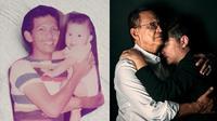 7 Potret Transformasi Gading dan Roy Marten dari Kecil Hingga Kini (sumber: Instagram.com/gadiiing/dr_tompi)