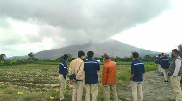 Cegah Jatuh Korban, Badan Geologi ESDM Monitoring Aktivitas Gunung Sinabung